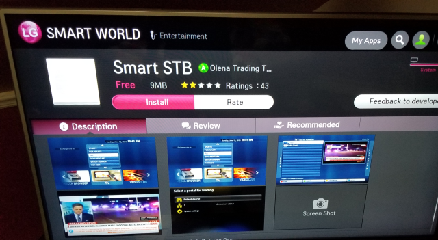 abonnement smart-stb pour SMART TV